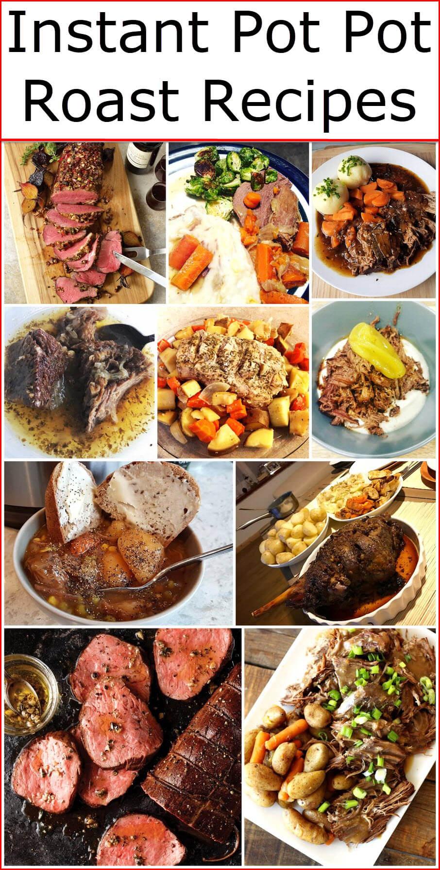 Instant Pot Pot Roast Recipes Instant Pot Recipes Most Popular And Easy Insta Pot Recipes